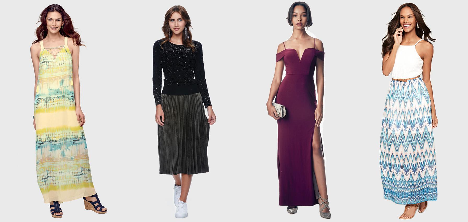 Midi and Maxi Dresses